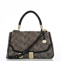 Marion mini dot flap bag