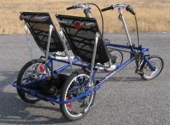 The Duette Compact Two-Seat Recumbent Tandem