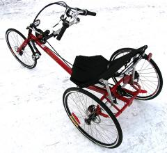 The Ariel Recumbent Road Trike