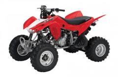 2013 Honda TRX400X ATV