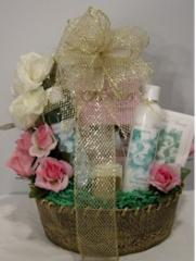 A Touch Of Gold Gift Basket