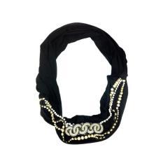 Deepa Gurnani Jeweled Scarf