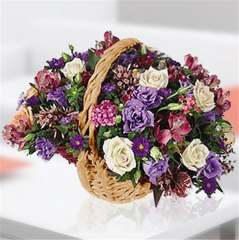 Beautiful Blooming Basket