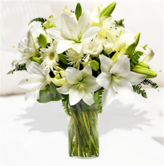White Satin Bouquet