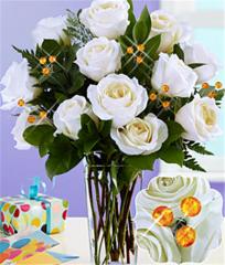 November Birthstone Rose Bouquet