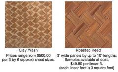 Ajiro and Kiri wood panels