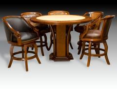 Poker Pub Table Safari Barstool Collection