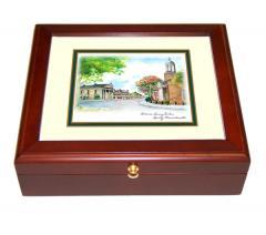 Quincy, Massaschusetts Mini Desk Box by Eglomisé