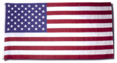 20 x 38 ft. Nylon American Flag Sewn Stripes