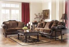 Key Town Truffle Living Room Group
