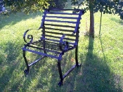 Clear Creek Wrought Iron Chair