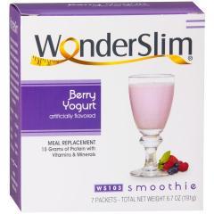 WonderSlim Berry Yogurt Smoothies