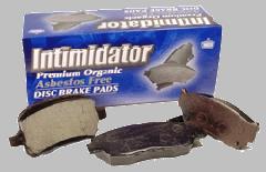 Intimidator Premium Organic Disc Brake Pads