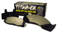TITAN-EX Severe Duty Disc Brake Pads