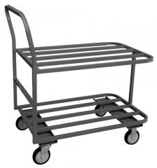 Model LG Square Tubular Frame Carts (2 Shelves)