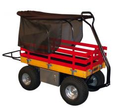 Heavy Duty Garden Wagon with Canopy