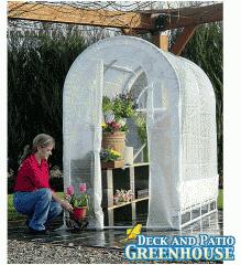 Weatherguard Deck and Patio Greenhouse