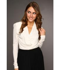 Kenneth Cole New York Cross Front Top