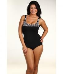 Christin Michaels Laylah Button One Piece