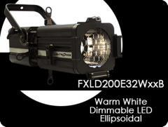 Dimmable LED Ellipsoidal Lighting Fixture