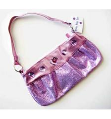 Girl's Pink Princess Sparkle Clutch Purse