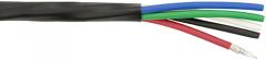 Plenum Miniature 25AWG Coax Snake Cable