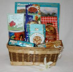 Hawaiian Sunrise Gift Basket
