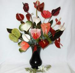 Specialty Anthuriums Bouquet