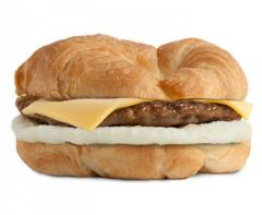 Sausage, Egg, & Cheese Croissant