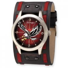 Men's Genuine Ed Hardy Gladiator Eagle Watch