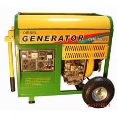 CH6000LE 6500W 406cc Diesel Generator