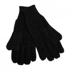 Cable Knit Pattern Cold Weather Winter Gloves