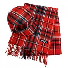 Classic Fashion Plaid Pattern Design Newsboy Hat