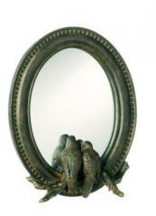 Lovebirds Framed Mirror