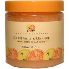 Grapefruit and Orange Sugar Scrub
