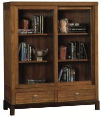 Serenity Sliding Door Bookcase by Sligh