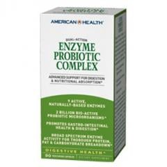 American Health Enzyme Probiotic Complex 90vcp