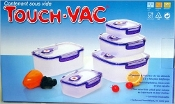 Touch-Vac Storage Containers