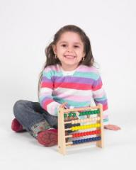 Wooden Abacus Math Toy