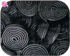 Haribo Black Licorice Wheels