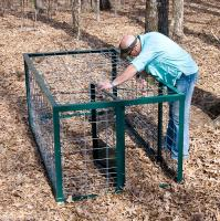 Steel Cage Hog Trap (with Closed Top)