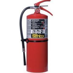 10 Lb Abc Fire Extinguisher (Short Unit) W/Wall