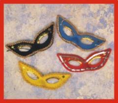 Harlequin fancy mask