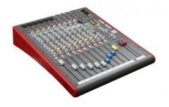 Allen & Heath ZED-12FX Multipurpose Mixer -...