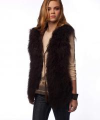 Wild & Woolie Hoodie Vest