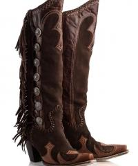 Vaquero fringed boot