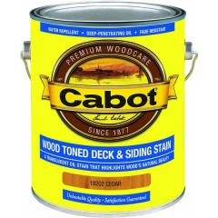 Cabot® VOC WOod Toned Deck And Siding Exterior