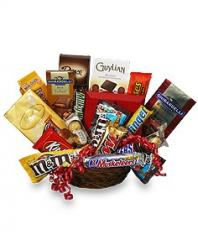 Chocolate Lovers' Gift Basket