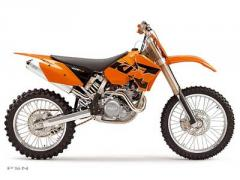2005 KTM 450 SX Racing Motocross Motorcycle