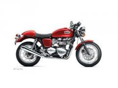 2012 Triumph Thruxton - Diablo Red Retro/Classic